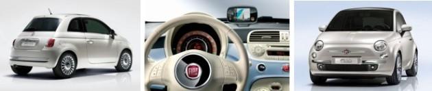 Fiat 500 Thaler Mobilwerbung